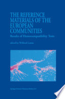 The Reference Materials of the European Communities
