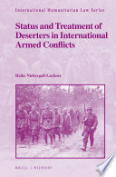 Status and Treatment of Deserters in International Armed Conflicts