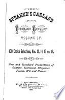 The Speaker's Garland and Literary Bouquet Pdf/ePub eBook