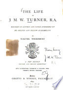 The Life of J M W  Turner  R A