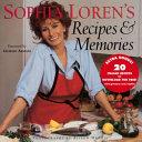 Sophia Loren s Recipes   Memories