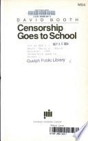 Censorship Goes to School