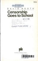 Censorship Goes to School Book PDF