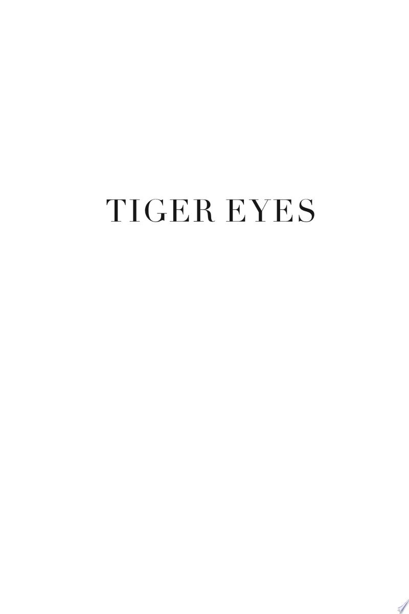 Tiger Eyes image