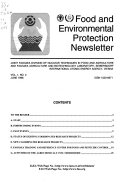 Food and Environmental Protection Newsletter