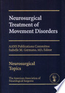 Neurosurgical Treatment Of Movement Disorders Book PDF
