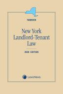 New York Landlord Tenant Law  Tanbook