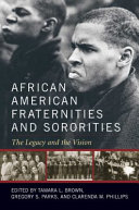 Pdf African American Fraternities and Sororities