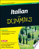 List of Dummies Italian E-book
