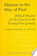 Mission In The Way Of Paul