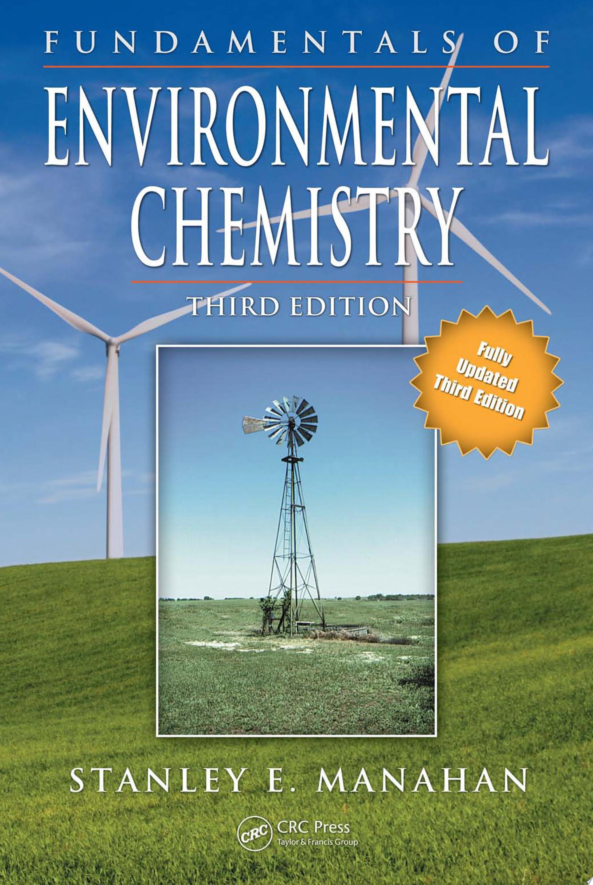 Fundamentals of Environmental Chemistry  Third Edition