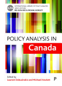 Pdf Policy analysis in Canada