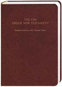 The UBS Greek New Testament