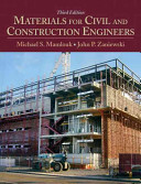 Materials for Civil and Construction Engineers Book