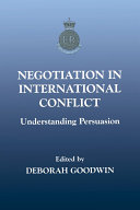 Negotiation in International Conflict