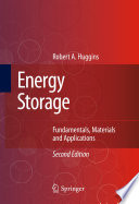Energy Storage Book
