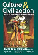 Culture and Civilization Pdf/ePub eBook