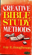 Creative Bible Study Methods