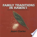 Family Traditions In Hawai I Book