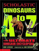Scholastic dinosaurs A to Z