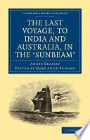 The Last Voyage To India And Australia In The Sunbeam Book PDF