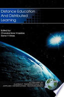 Distance Education and Distributed Learning