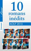 10 romans inédits Azur (no3615 à 3624 - août 2015)