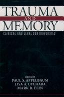 Pdf Trauma and Memory