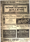 The Wine and Spirit Bulletin Book