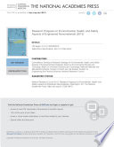 Research Progress On Environmental Health And Safety Aspects Of Engineered Nanomaterials Book PDF
