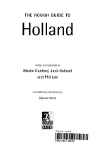 The Rough Guide To Holland