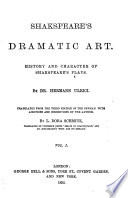 Shakspeare's dramatic art History and character of Shakspeare's plays