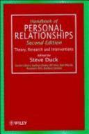 Handbook of Personal Relationships