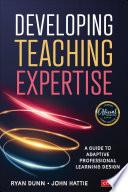 Developing Teaching Expertise