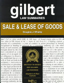 Gilbert Law Summaries: Sale & Lease of Goods - Seite 208