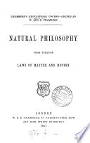 Natural philosophy  Treatise 1