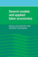 Search Models and Applied Labor Economics