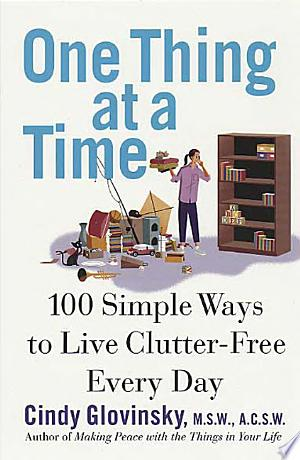 Read Book One Thing At a Time Free PDF - Read Full Book