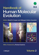 Handbook of Human Molecular Evolution  2 Volume Set