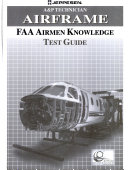 A & P technician airframe FAA airmen knowledge test guide