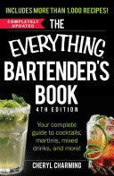 The Everything Bartender s Book Book
