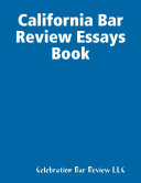 California Bar Review Essays Book