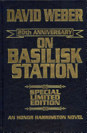On Basilisk Station 20th Anniversary Leather-Bound Signed Edition banner backdrop