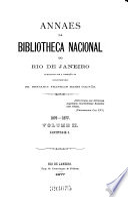 Hauptsacht. 1.1876/77 - 50.1928: Annaes da Bibliotheca Nacional do Rio de Janeiro