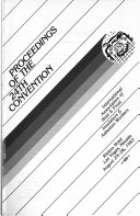 Proceedings Of The Convention International Association Of Heat And Frost Insulators And Asbestos Workers