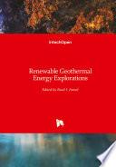 Renewable Geothermal Energy Explorations