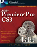 Pdf Adobe Premiere Pro CS3 Bible