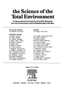 The Science Of The Total Environment Book PDF