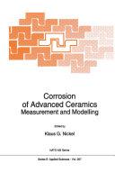Corrosion of Advanced Ceramics Pdf/ePub eBook