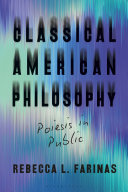 Pdf Classical American Philosophy Telecharger